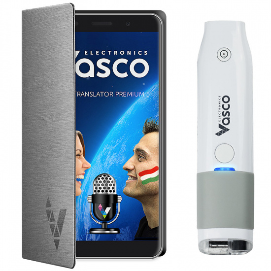 "Vasco Translator Premium 5"" + Skener"