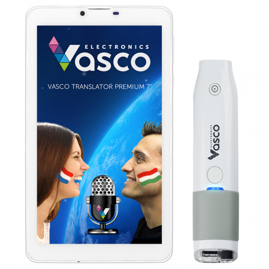 "Vasco Translator Premium 7"" + Skener"